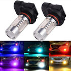 1 Pair 9006 COB LED Car Auto Driving Fog Light Lamp Bulbs Headlight Super Bright
