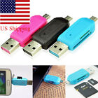 2 in 1 USB Universal OTG Micro USB TF SD Card Reader for PC Phone Sweet