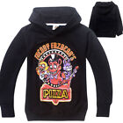 Kids Boy FNAF Five Night At Freddy's Long Sleeve Pullove Sweater Sweatshirt Tops