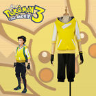 Game Pokemon Go Trainer Figure Yellow Team Valor Instinct Mystic Cosplay Costume