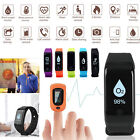 Waterproof Activity Tracker Heart Rate/Blood Pressure/Oxygen Monitor Smart Watch