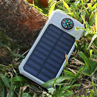 Portable Strong LED Lamp Light Solar Power Charger For IPad Phones Hot