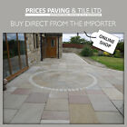 INDIAN SANDSTONE GRADED Patio Paving 18m2 of Raj / Autumn or Grey DELIVERED*