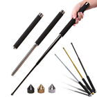 Professional Retractable Self-defense Stick Gift Outdoor Tool + Pointed Cap
