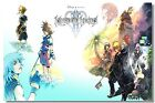 Kingdom Hearts 2 3 Sora Riku Aqua Axel Xiii 13 Art Wall Cloth Poster Print 522