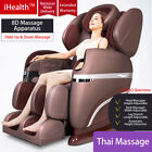 New iHealth Massage Chair Electric 3D Shiatsu Heat Music Head Massage Centre