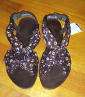 WOMEN'S BROWN STRAPPY SANDALS BY GUPPY LOVE BY BLOWISH - NEW  - SIZE 5.5