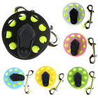 MagiDeal 100ft Finger Reel Wreck Scuba Cave Diving Spool with Double Ended Clip