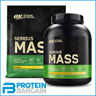 Optimum Nutrition Serious Mass 2.72kg/5.4kg Gainer + FREE STAINLESS STEEL SHAKER