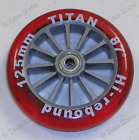 TITAN 125mm Replacement Wheel fits Yvolution Y FLIKER A1 & RAZOR A3 Kick Scooter