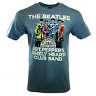 THE BEATLES Men's T-shirt Official SGT. PEPPER'S LONELY HEARTS CLUB BAND - UK