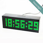 Second Generation Large Led Digital Wall Clock 6 Groups of Alarm Table Clock