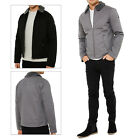 Threadbare Mens Sandpiper Designer Borg Lined Collar Zip Up Fashion Jacket