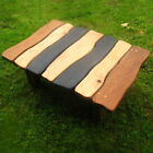 Stripy Slate Coffee Table, Unique Table Handmade UK, Reclaimed and Eco-Friendly
