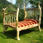 Rustic Four Poster Bed, Stunning Handmade Wooden Bed Frame, Made in UK.