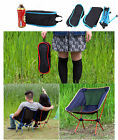 Foldable Camping Chair Backpacking Outdoor Hiking Lightweight Portable Patio NEW
