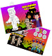 Pack of 12 - Halloween Fun and Games Activity Sheets - Party Bag Books Fillers photo