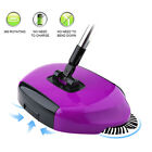 Spin Hand Push Broom Sweeper Household Floor Cleaning Mop Without Electricty AU