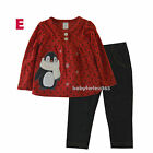 Carter's Baby Girls 2 pc Shirt & legging Size 0 3 6 9 12 18 24 months 3T 4T 5T