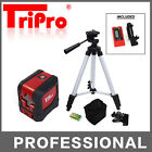 Self Leveling Stand Palm Cubic Pocket Cross Line Laser Level Receiver Tripod Kit