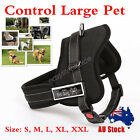 Control Large Pet Adjustable Dog Pulling Harness Support Comfy Pitbull Training