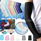 Unisex Arm Sleeves Cooling UV Basketball Outsport Skin Cover Sun Protector 1Pair