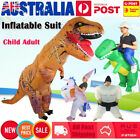 Inflatable Suit Ride Dinosaur Child Adult Fancy Dress Costume Outfit Party 4type
