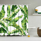 Bathroom Fabric Shower Curtain Set Water Resistant Multichoice Include 12 Hooks
