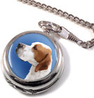 English Pointer Full Hunter Pocket Watch (Optional Engraving)