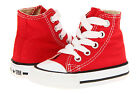 Converse Hi Tops Red All Sizes Infant Toddler Baby Boys or G
