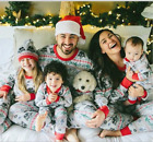 mother daughter matching pajamas - Family Matching Outfits Christmas Pajamas Mother Daughter Father Son Toddler