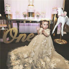 Cute Baby Girls Baptism Gowns Christening Dresses Birthday Party Custom Vintage