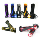 """MOTORCYCLE CNC Anodized GEL HAND GRIPS FOR 7/8"""" HANDLEBARS Bicycle SPORTS BIKES"""