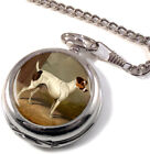Jack Russell by Colin Graeme Roe Full Hunter Pocket Watch (Optional Engraving)