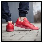 NEW Adidas Stan Smith ADICOLOR TRIPLE RED Men's Pharrell Scarlet Leather S80248
