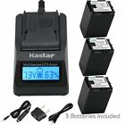 BP-827 Battery & Fast Charger for Canon VIXIA HF S100, HF...