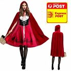LITTLE RED RIDING HOOD ADULT DELUXE HALLOWEEN S M L XL