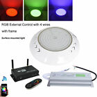 Fully Resin Filled 18W 42W Wifi Control LED Swimming Pool Underwater Light DC12V