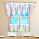 Hand Made Window Kitchen Set Net Curtain For You Many Colours High Quality Voile