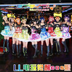 Love Live Cyber Game All Members Cosplay Costume Women Suit Dress For Christmas