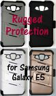 Rugged Case, Holster, Tempered Glass Screen Protector for Samsung Galaxy E5 LTE