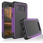 For Samsung Galaxy S8 Active/+ Plus/S8 Phone Case Hybrid Shockproof Rugged Cover
