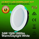 18W 24W 36W LED DOWNLIGHT KITS RECESSED CEILING 120,150,200MM LARGER CUTOUTS DIM