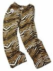 Pittsburgh Steelers Zubaz Adult Pants Black/Gold