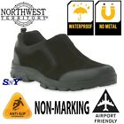Men's WATERPROOF SUEDE Work Casual Shoes Boots Loafer Slip o