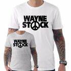 Wayne Stock Wayne's World Festival Movie Film 90's Funny T shirt Small to XXL