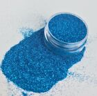 Blue Biodegradable Cosmetic Bio Glitter, bath bombs, soaps & shower jellies
