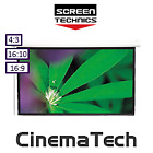 ST Projection Screens - Manual Screens- CinemaTech Premium Chain Drive