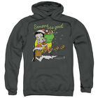 Betty Boop Chimney Pullover Hoodies for Men or Kids $29.84 USD