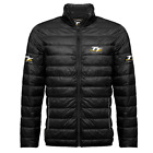 Official Isle of Man TT Ribbed Puffer Jacket Black 2017
